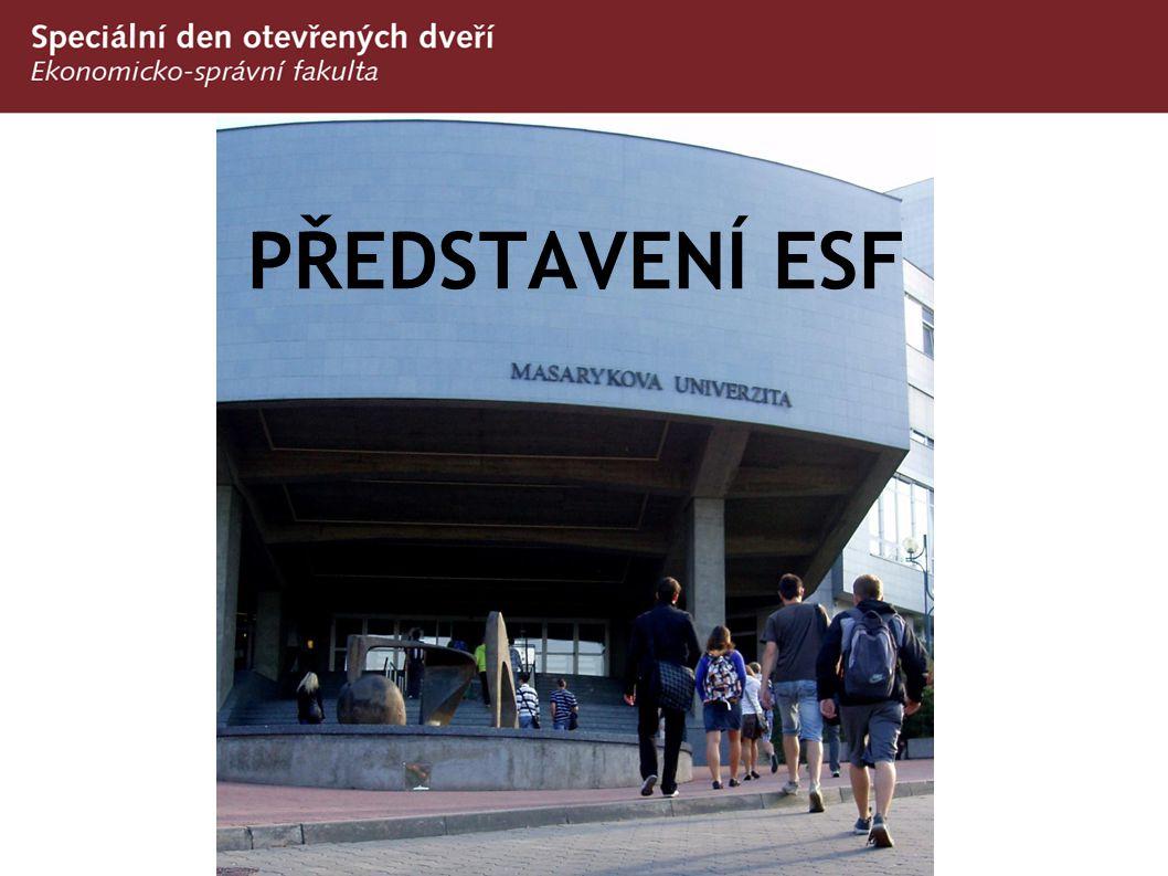Sport a jazyky na ESF/MU  Povinná (a příjemná) tělesná výchova  Centrum univerzitního sportu  http://www.fsps.muni.cz/cus/  Povinná (a kvalitní) výuka cizího jazyku na 4 semestry  Povinný (a užitečný) předmět v cizím jazyku