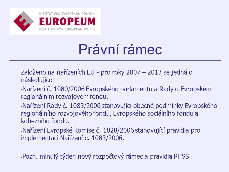 Právní rámec LEADE REQUAL INTERE G URBAN Iniciativ y x Cíl 3 xxxCíl 2 xxxxCíl 1 FIFGEAGGFESFERDF LEADE REQUAL INTERE G URBAN Iniciativ y x Cíl 3 xxxCíl 2 xxxxCíl 1 FIFGEAGGFESFERDF Založeno na nařízeních EU - pro roky 2007 – 2013 se jedná o následující: Nařízení č.