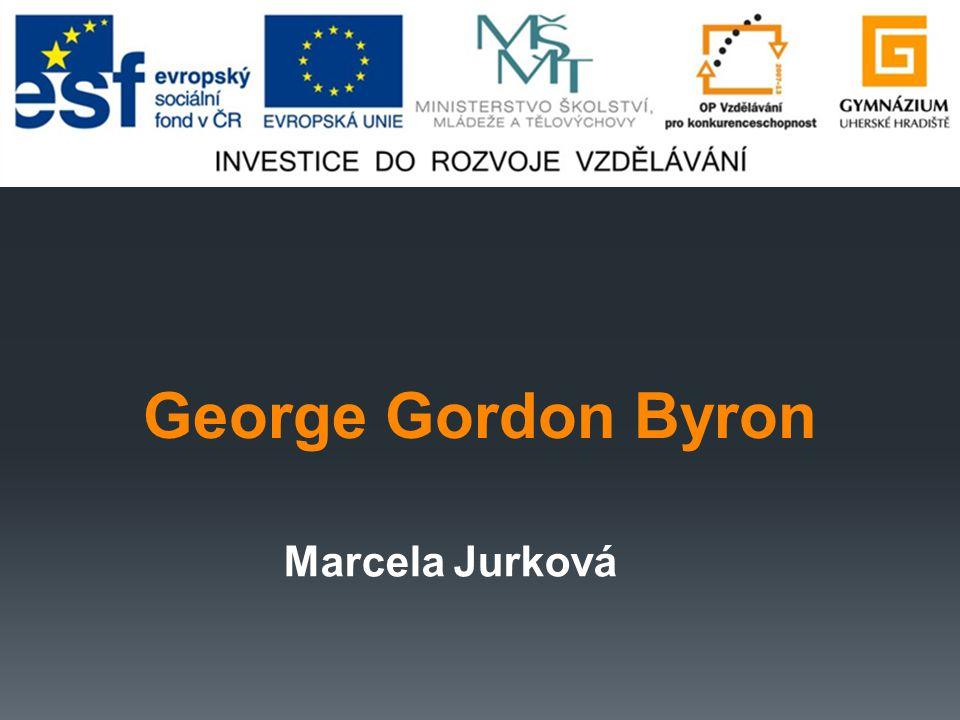 George Gordon Byron Marcela Jurková