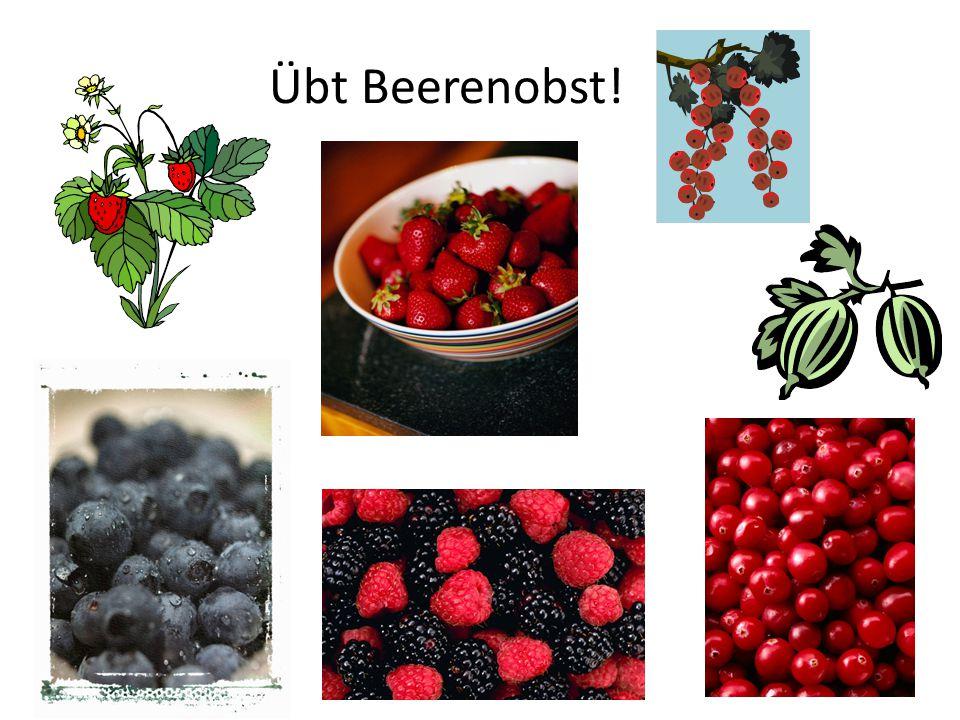 Übt Beerenobst!