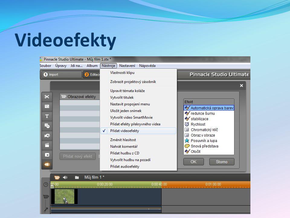 Videoefekty