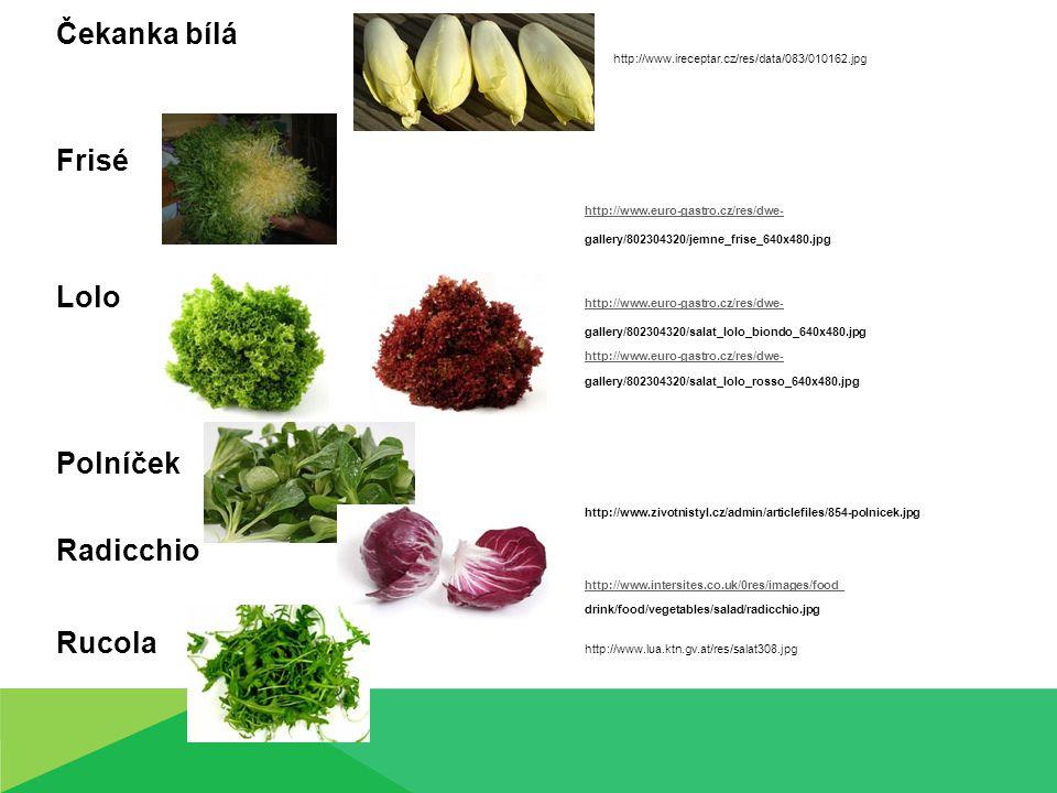 Fenykl – syrový,dusit či vařit v páře, do salátů, polévek, pomazánek, zdobit jídlo i do sladkých pokrmů Řapíkatý celer – polévky, k dušenému masu, pyré, s kozím sýrem, srdíčko křehčí k ozdobě jídel a nápojů, do vývaru a polévek, nasekané v malém množství i do některých salátů.