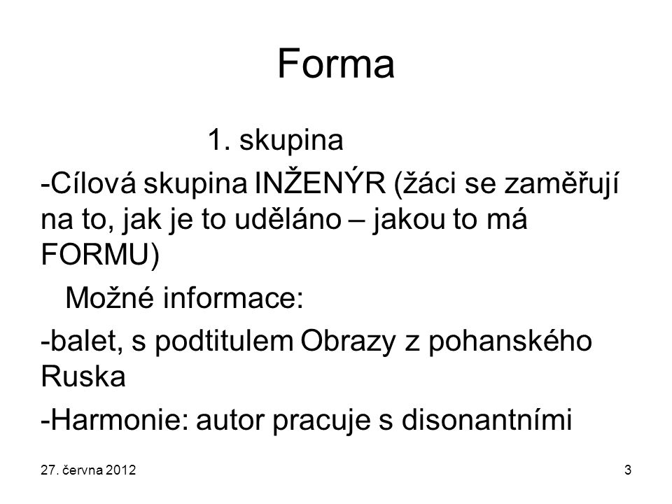 Forma 1.