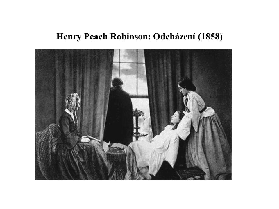Henry Peach Robinson: Odcházení (1858)