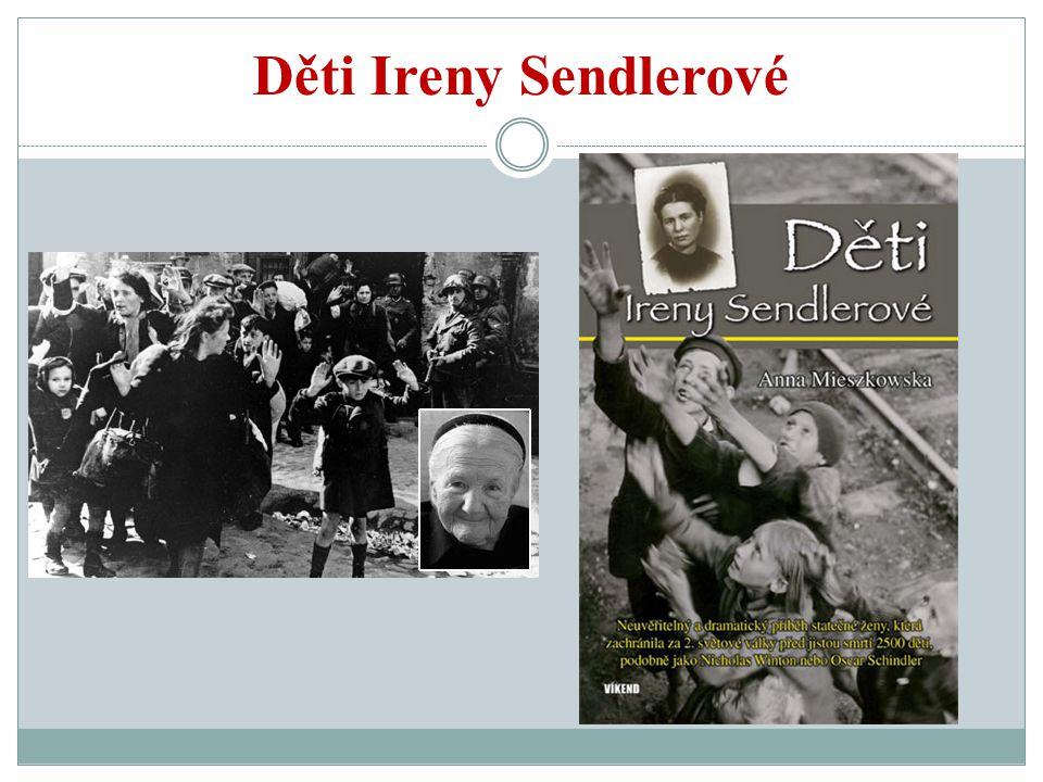 Zatčení a mučení V roce 1943 byla Irena Sendlerowá zatčena Gestapem, ale ani přes opakované brutální mučení nic důležitého nevyzradila.