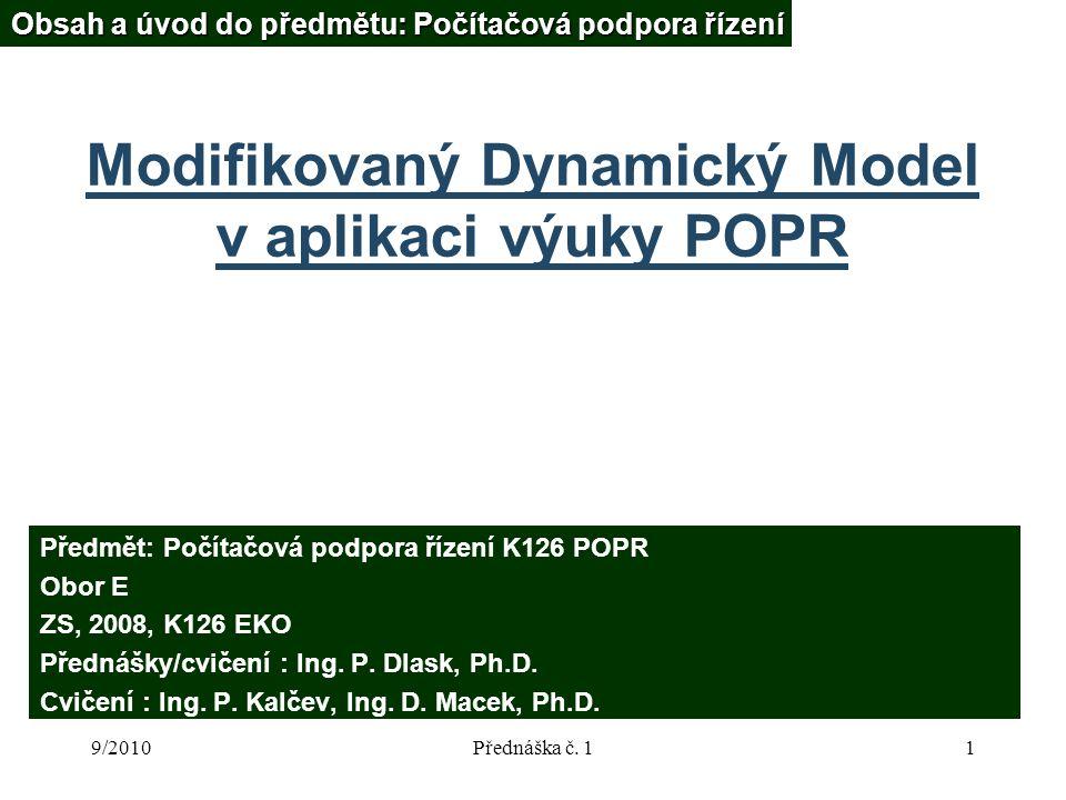 9/2010Přednáška č.