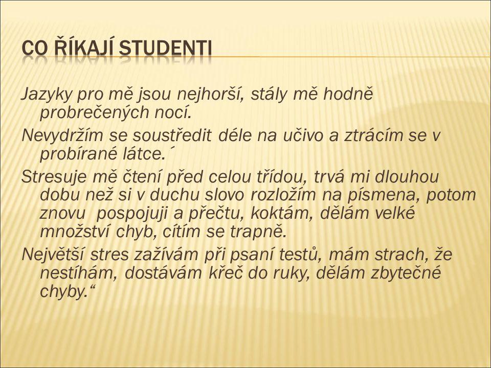 Doporučení Nepoužívat příliš český jazyk.