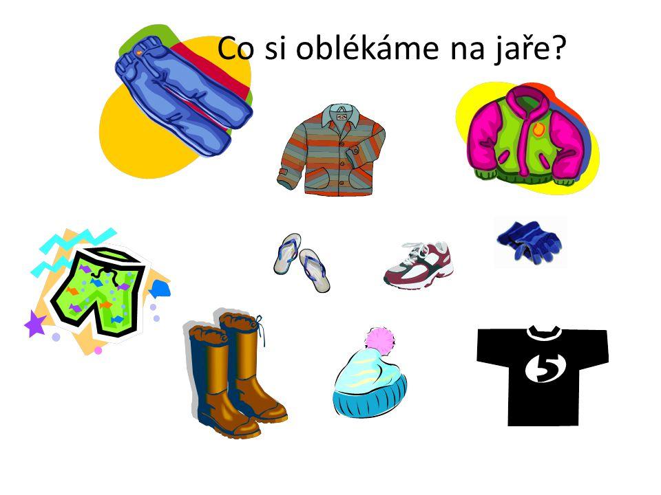 Co si oblékáme na jaře