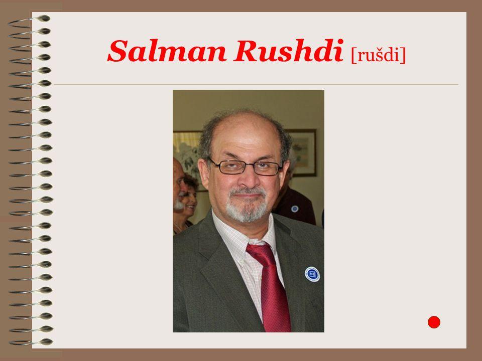 Salman Rushdi [rušdi]