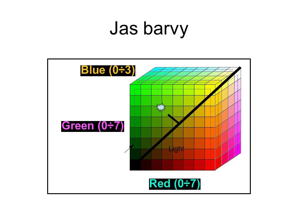 Jas barvy Light