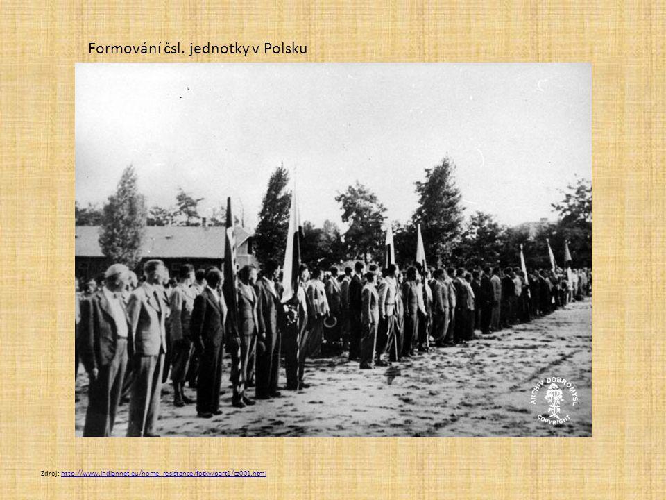 Londýn 1939-1945 centrum politické emigrace okolo prezidenta Beneše 1940 vznik prozatímní vlády Státní rada československá (náhradní parlament) V učebnici na s.66 zjisti: Kdo byl předseda prozatímní londýnské vlády Kdo byli ministři zahraničí a obrany Zda byli v londýnské vládě zastoupeni komunisté
