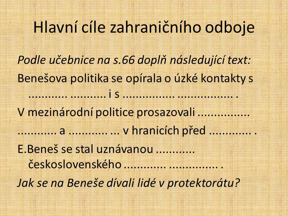 Vztahy ČSR a SSSR Proč českoslovenští politici nevěřili zcela západní diplomacii.