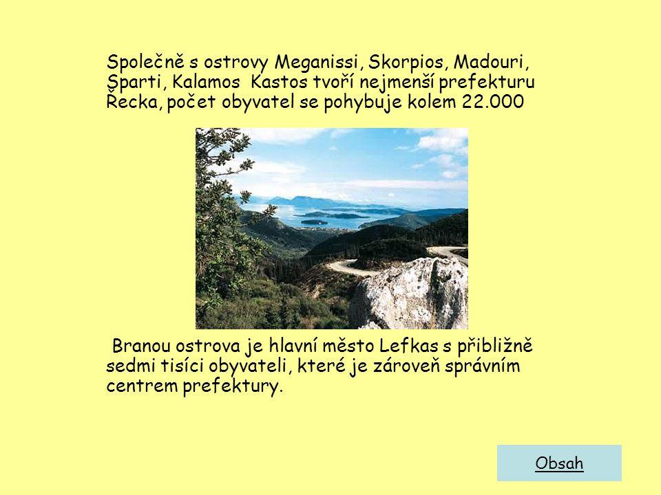 Geografie a klima Lefkada je relativně velký ostrov u západního pobřeží pevninského Řecka.