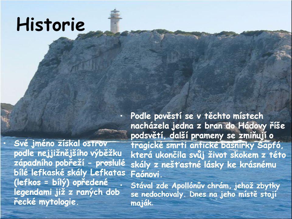 Test z Geografie 1) Jaký je obvod pobřeží Lefkady? A) 115 kmB) 330km 2) Jak se nazývá nejvyšší hora? A) StavrotasB) Staveretas 3) V jakém moři Lefkada