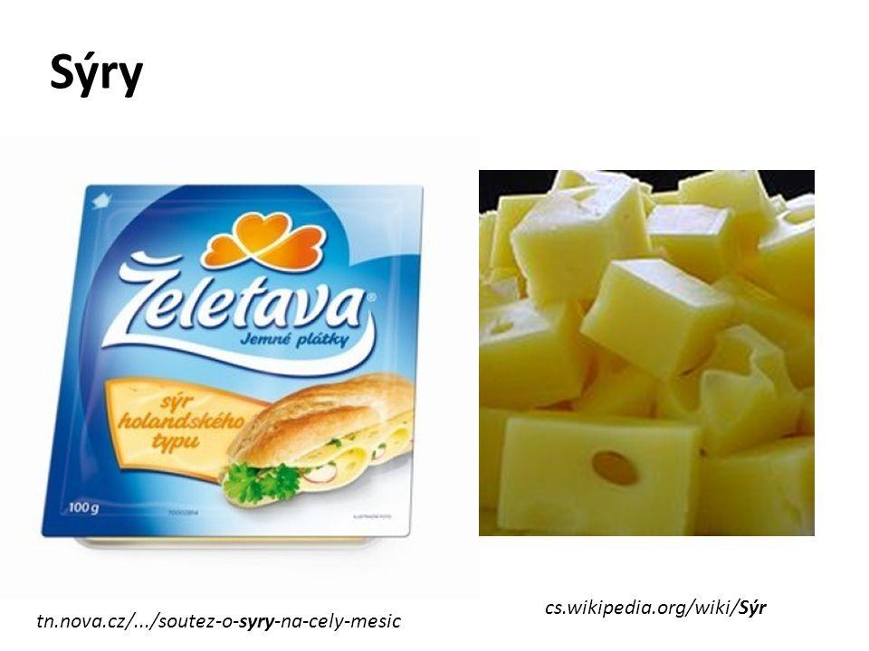 Sýry cs.wikipedia.org/wiki/Sýr tn.nova.cz/.../soutez-o-syry-na-cely-mesic