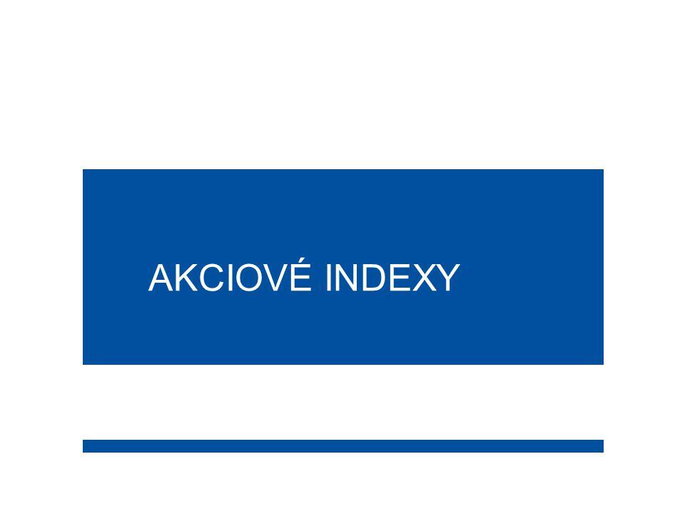 2  Index obecně reprezentuje portfolio cenných papírů příslušného akciového trhu nebo odvětví.