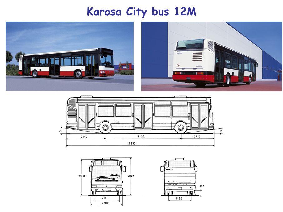 Karosa City bus 12M