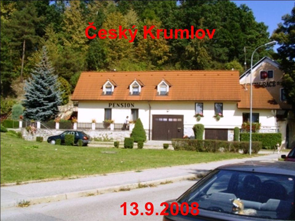 Český Krumlov 13.9.2008