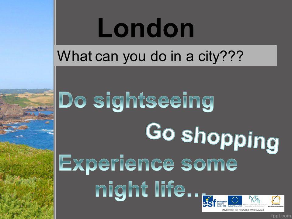 London - Sightseeing