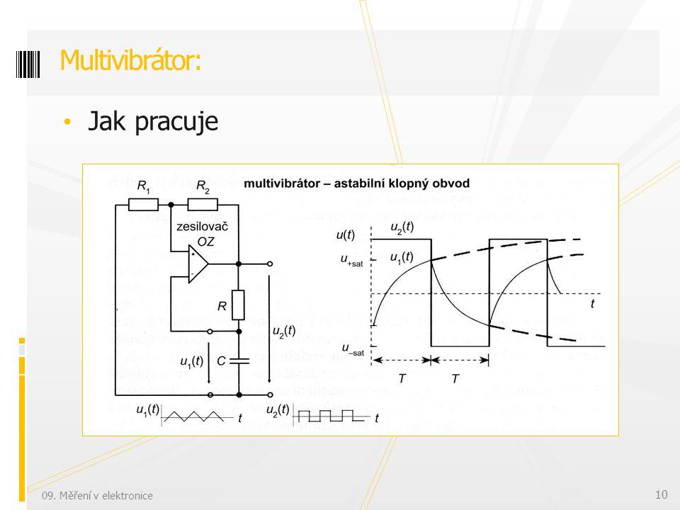 Jak pracuje Multivibrátor: 09. Měření v elektronice 10