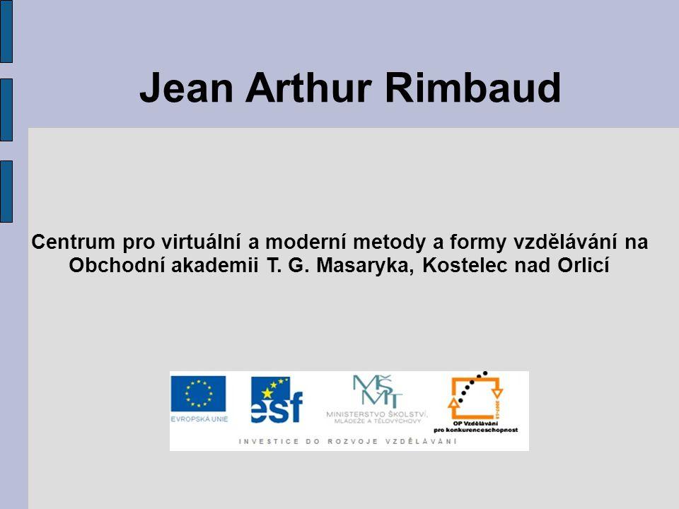 Jean Arthur Rimbaud Centrum pro virtuální a moderní metody a formy vzdělávání na Obchodní akademii T. G. Masaryka, Kostelec nad Orlicí
