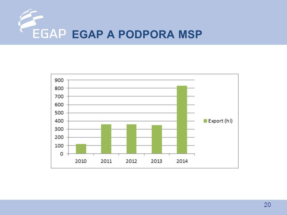 20 EGAP A PODPORA MSP