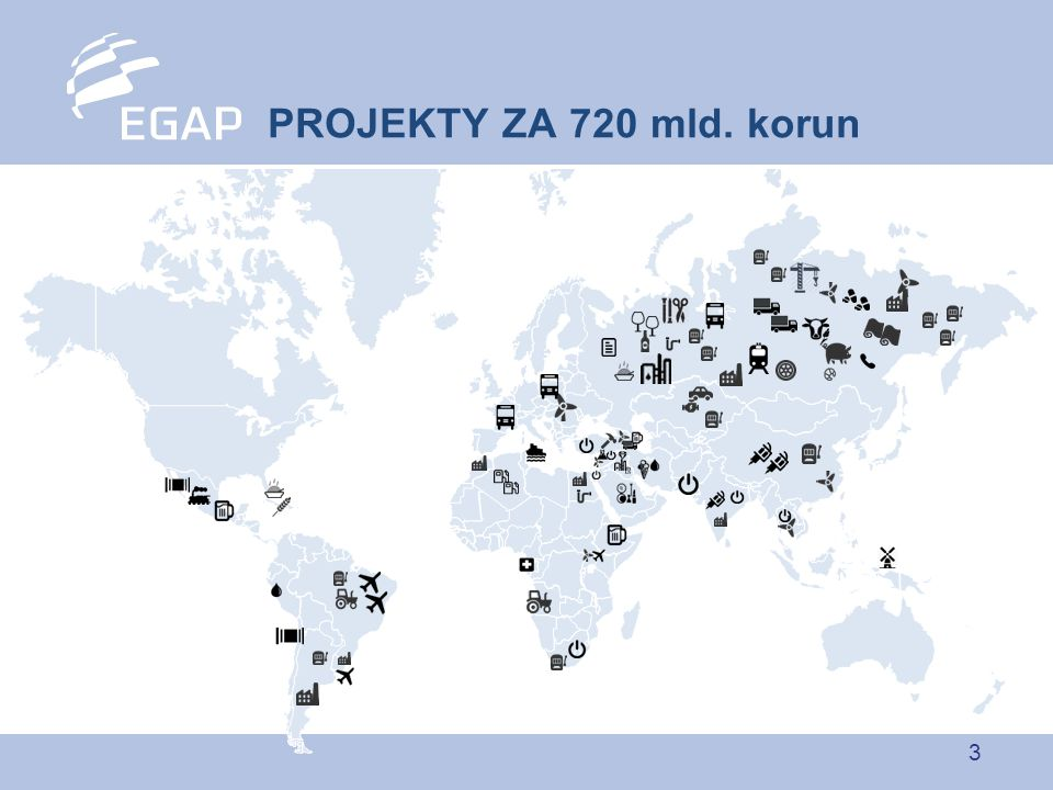3 PROJEKTY ZA 720 mld. korun