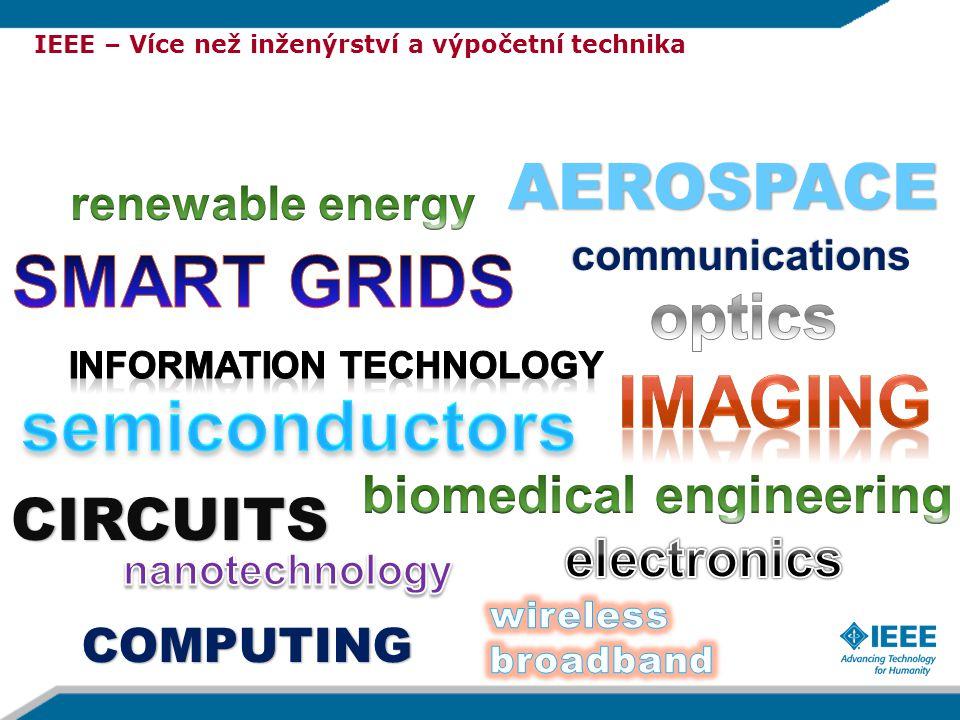 AEROSPACE communications CIRCUITS COMPUTING IEEE – Více než inženýrství a výpočetní technika