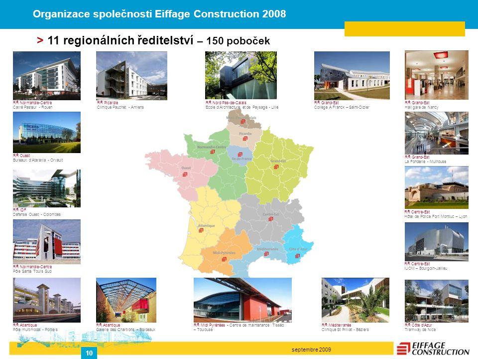septembre 2009 10 RŘ Normandie-Centre Carré Pasteur - Rouen RŘ Ouest Bureaux d'Ataraxia - Orvault RŘ IDF Défense Ouest - Colombes RŘ Normandie-Centre