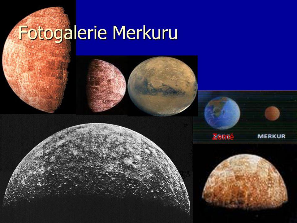Fotogalerie Merkuru Země