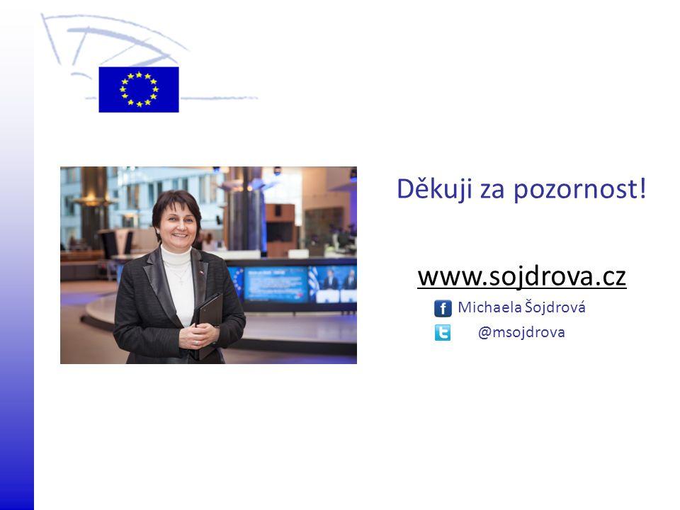 Děkuji za pozornost! www.sojdrova.cz Michaela Šojdrová @msojdrova