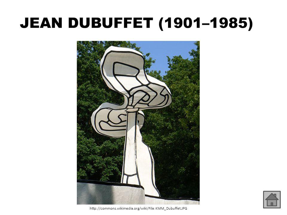 JEAN DUBUFFET (1901–1985) http://commons.wikimedia.org/wiki/File:KMM_Dubuffet_02.JPG