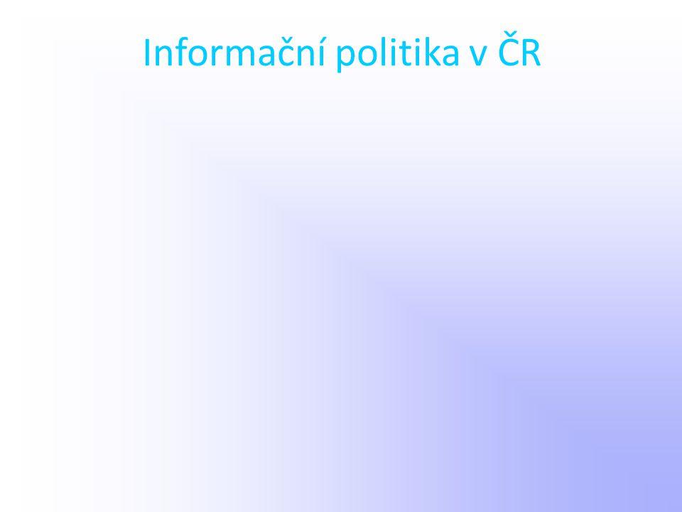 Informační politika v ČR