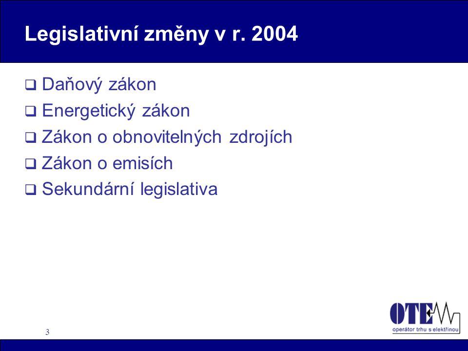 3 Legislativní změny v r.