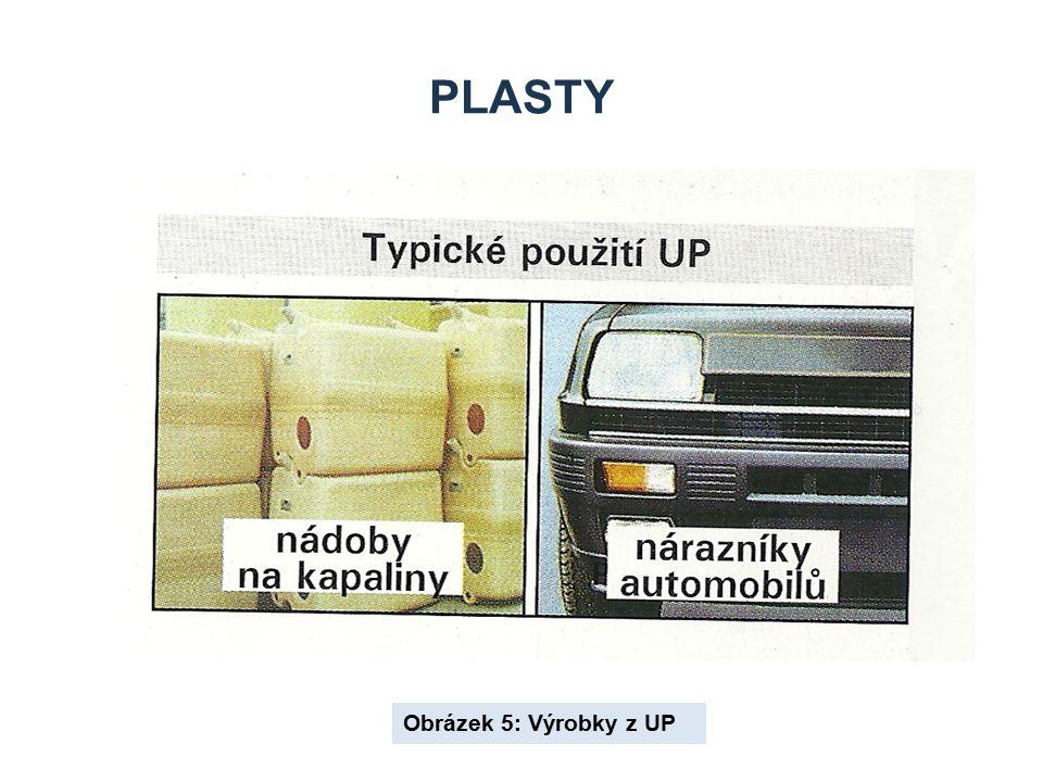 PLASTY Obrázek 5: Výrobky z UP