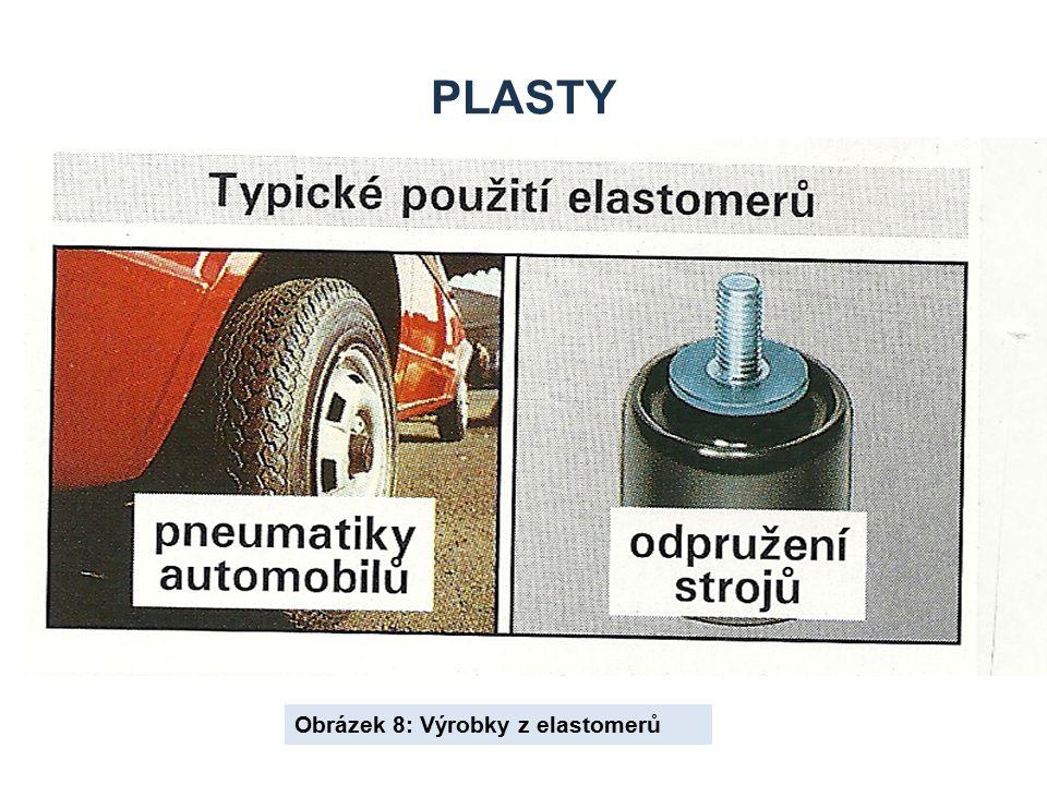PLASTY Obrázek 8: Výrobky z elastomerů