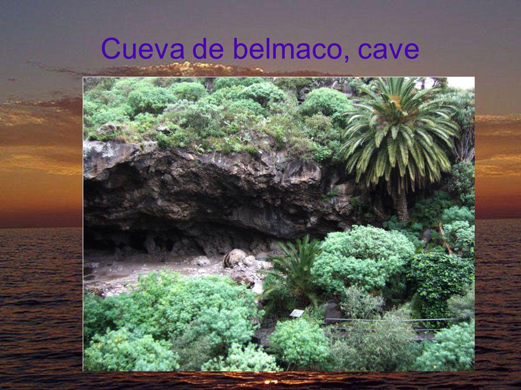 Cueva de belmaco, petroglyphes