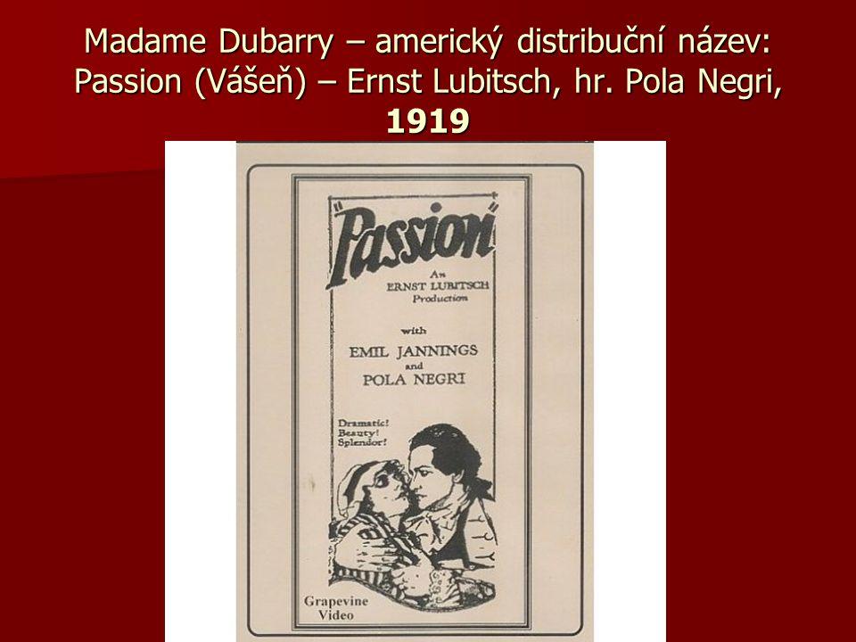 v letech 1921-28 britští producenti – zajistili americké uvedení pro 79 filmů, v letech 1921-28 britští producenti – zajistili americké uvedení pro 79 filmů, 2x tolik než bylo francouzských, 2x tolik než bylo francouzských, za německými – 119 za německými – 119 distribuci brit.