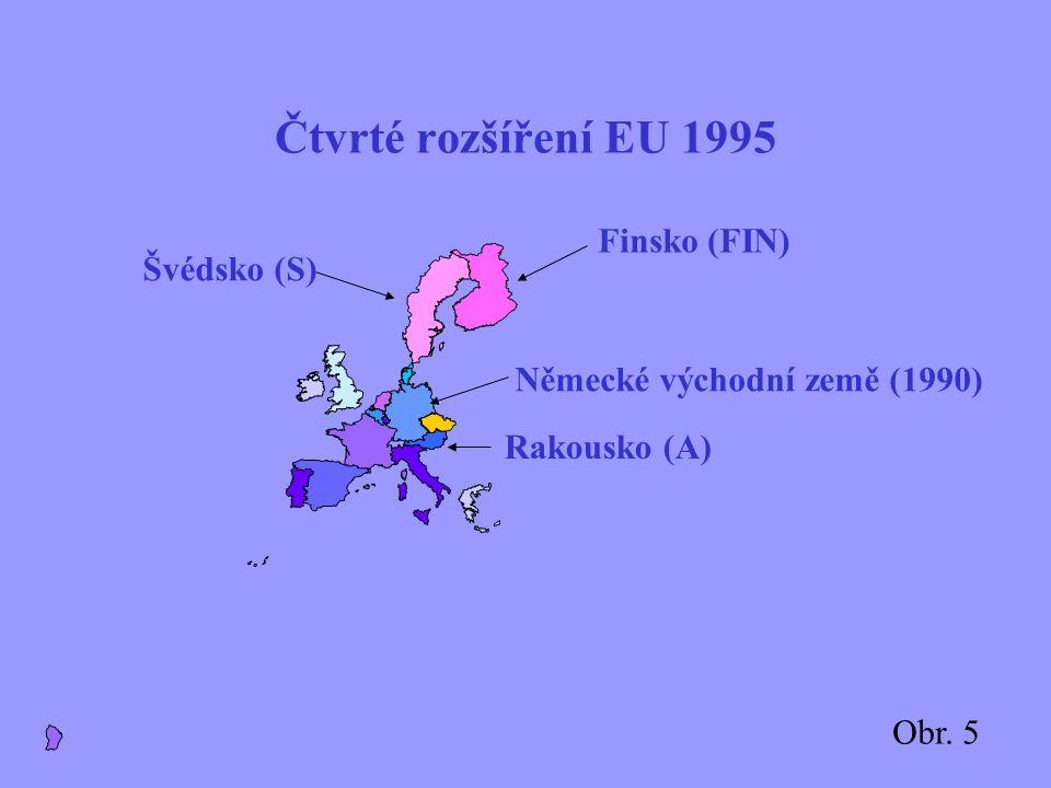 Prosazení Evropské unie Jednotný vnitřní trh je skutečností (1993) Smlouva o Evropské unii nabývá účinnosti (25/10/1993) Kodaňská kritéria Evropské ra