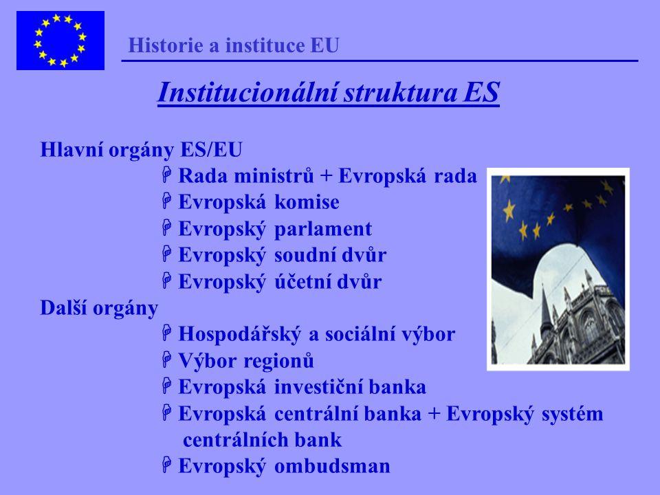 Současná Evropská unie Evropská komise Romano Prodiho (15/9/1999) Zahájena mezivládní konference k reformě institucí EU (14/2/2000) - ukončena Evropsk