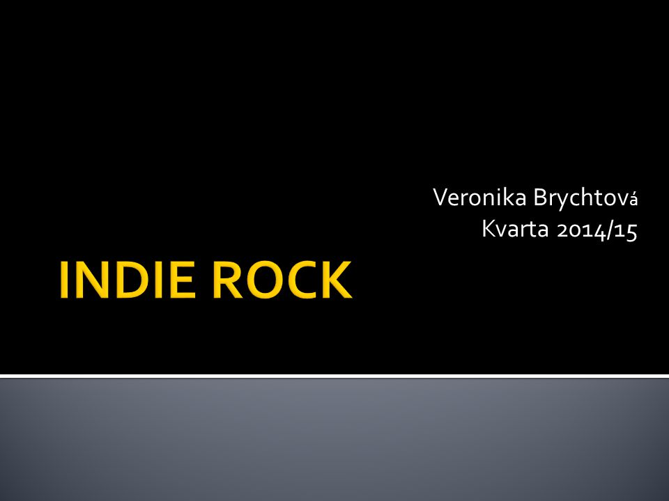 Veronika Brychtov á Kvarta 2014/15