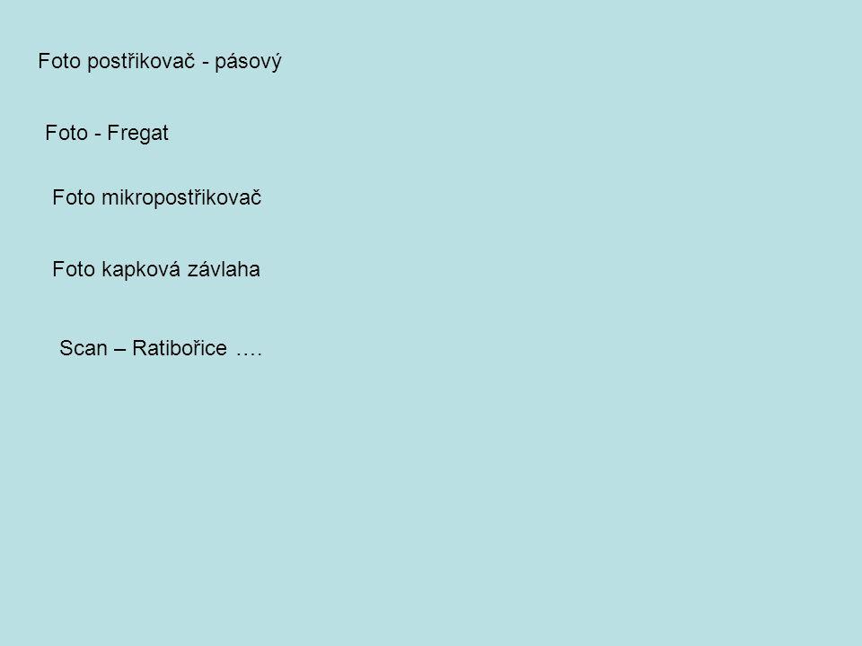 Foto postřikovač - pásový Foto - Fregat Foto mikropostřikovač Foto kapková závlaha Scan – Ratibořice ….