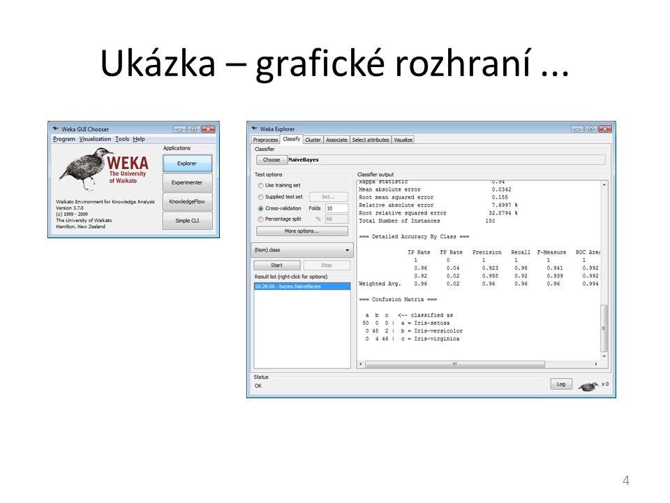 Ukázka – grafické rozhraní... 4