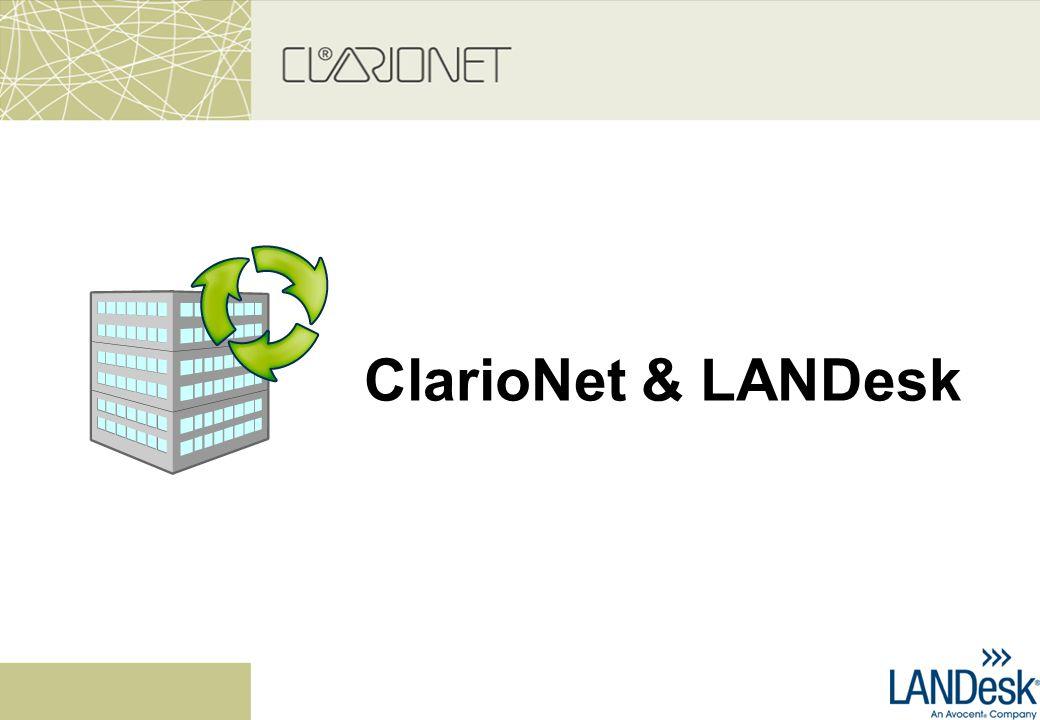 ClarioNet & LANDesk