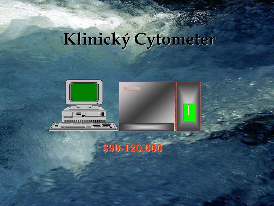 Výzkumný Cytometr (Coulter 753) Laser Počítač Detektory $200-300,000