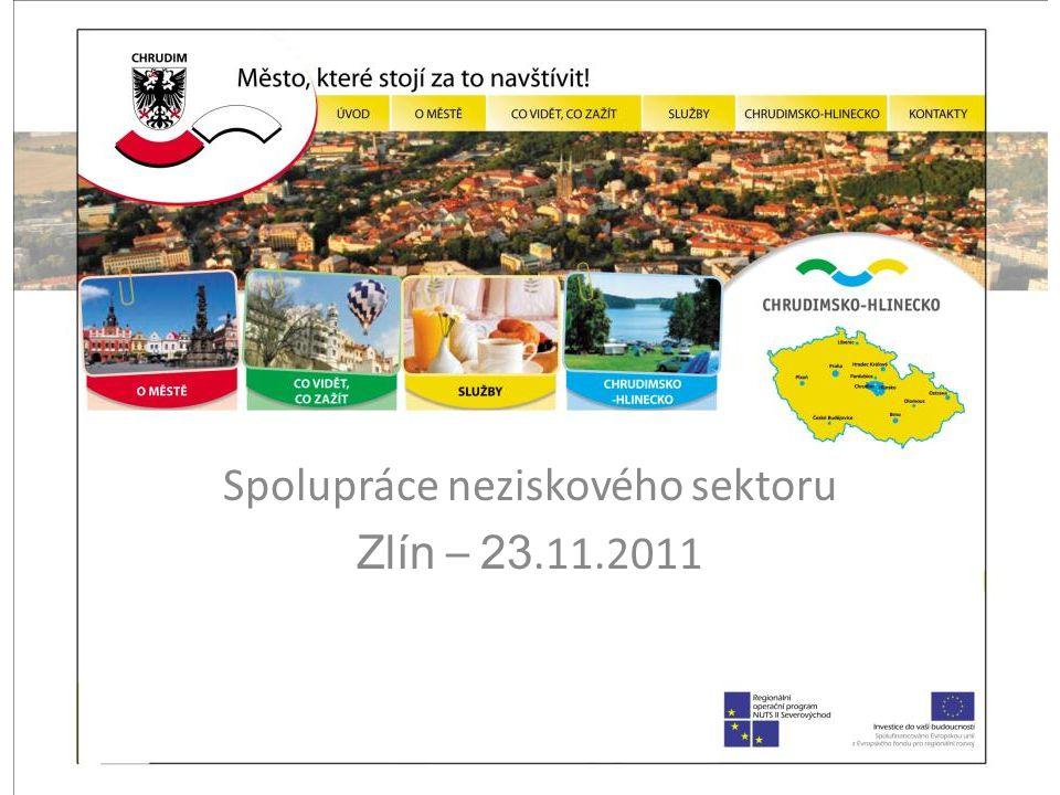 Spolupráce neziskového sektoru Zlín – 23.11.2011