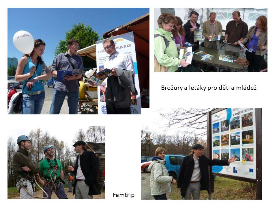 Brožury a letáky pro děti a mládež Famtrip