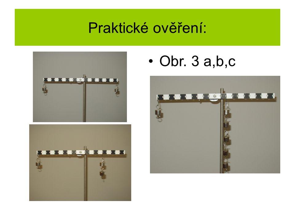Praktické ověření: Obr. 3 a,b,c