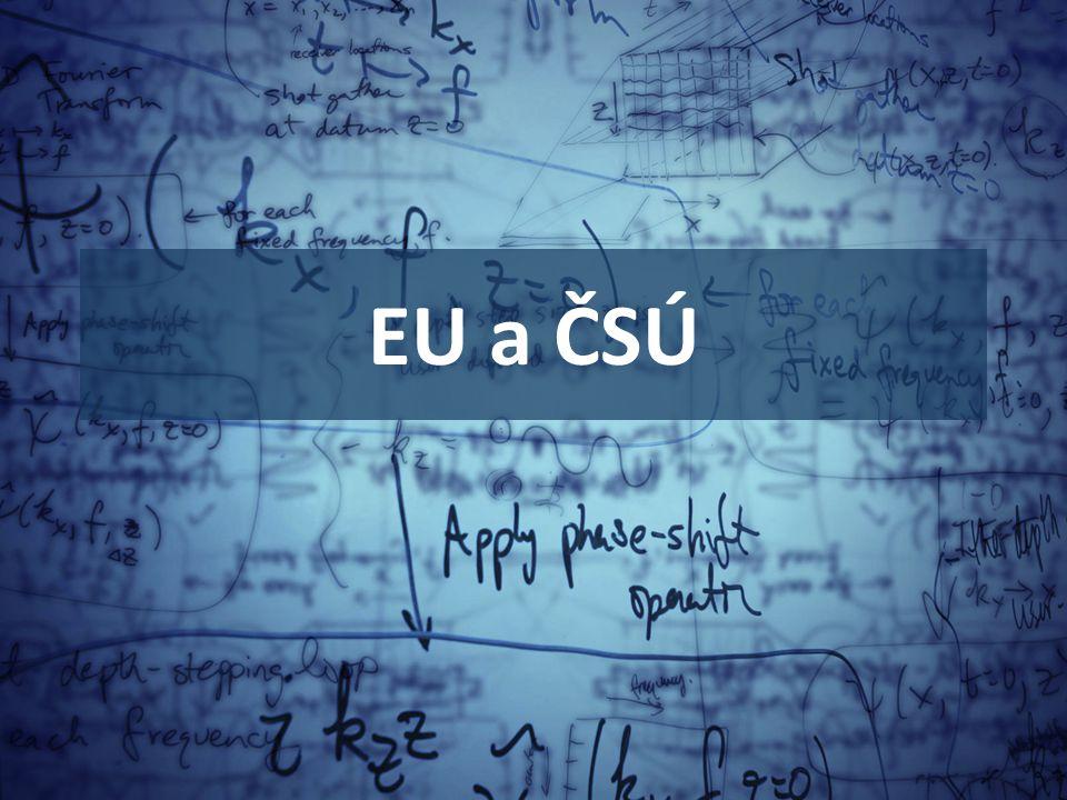 EU a ČSÚ