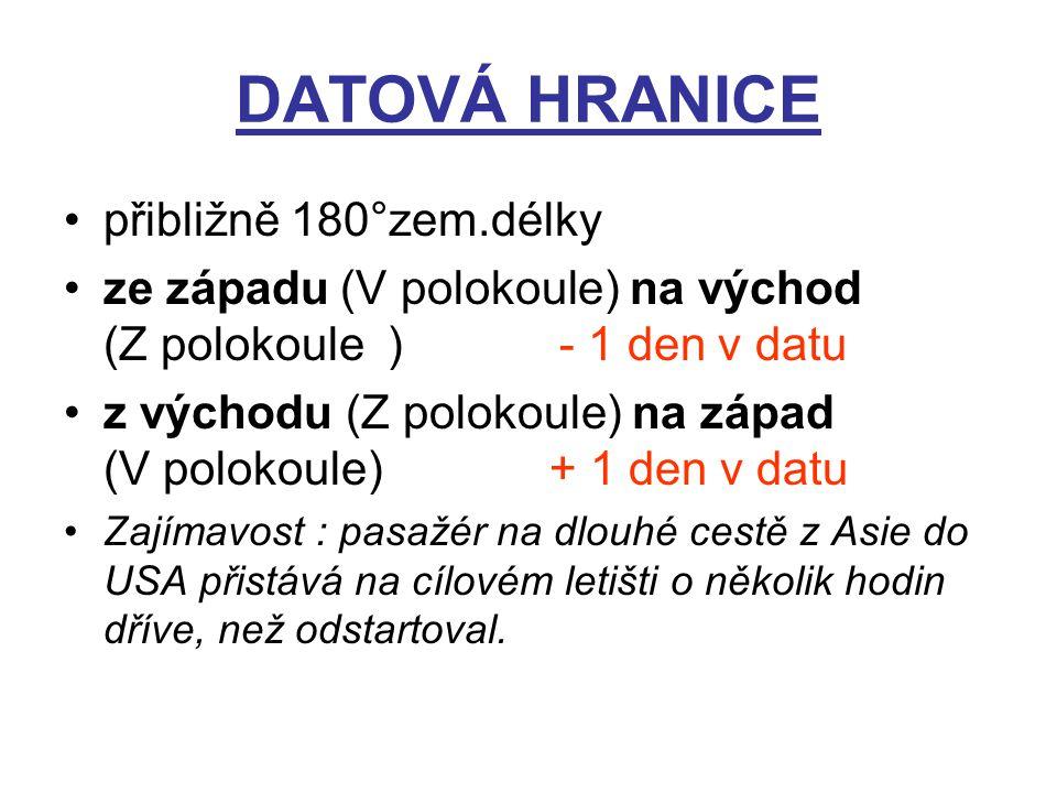 DATOVÁ HRANICE